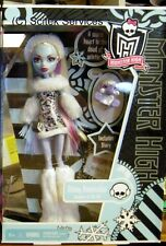 2011 Monster High Abbey Bominable & Pet Very Rare Hard to Find NRFB Smoke Free