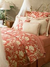 Ralph Lauren VILLA CAMELIA FLORAL 4P King Duvet Cover Shams Pillow Set