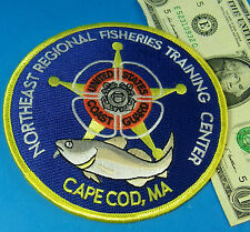 US COAST GUARD PATCH,NORTHEAST REGIONAL FISHERIES TRAINING CENTER, CAPE COD,MA