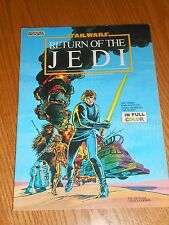 VINTAGE OFFICIAL MARVEL RETURN OF THE JEDI COLLECTORS EDITION COMIC FULL COLOR