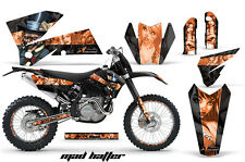 AMR Racing KTM C4 EXC/SX/MXC/SMR Graphic # Plate Kit MX Bike Decal 05-07 MD HTTR