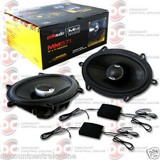 "POLK AUDIO MM571 5 x 7"" 2-WAY CAR AUDIO MARINE CERTIFIED SPEAKERS (PAIR)"