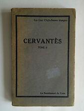 CERVANTES VOL 2 1935  CENT CHERFS D'OEUVRE ETRANGERS BARDON