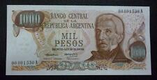 ARGENTINA BANKNOTE 1000 Pesos, Pick 299 UNC 1973 - Low Serial Number