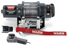 Warn 89030 Vantage 3000 ATV/UTV/Quad Winch 3000 Lb w/50' 3/16 Rope