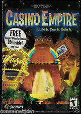 Hoyle Casino Empire (PC, 2002) w/Bonus Disc
