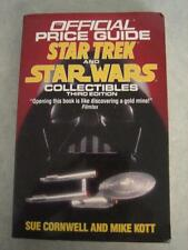 The Official Price Guide of Star Trek & Star Wars Collectibles (1991) Third Ed.