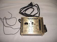 MRC MODEL RECTIFIER CORPORATION TRAINPACK MODEL 100 HO TOY TRANSFORMER WORKING