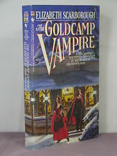 1st,signed,Drastic Dragon 2:Goldcamp Vampire by Elizabeth Ann Scarborough (1987)
