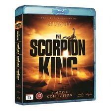 The Scorpion King 1-4 Box Region Free Blu Ray