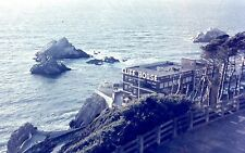 1950s SAN FRANCISCO CLIFF HOUSE from SUTRO HEIGHTS~ORIGINAL COLOR FILM POSITIVE