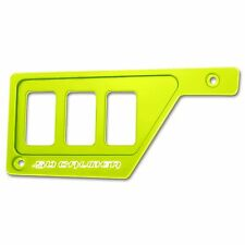 Lime Squeeze Polaris RZR XP1000 Left Side 3 Switch Dash Panel Off Road Racing