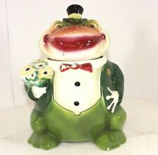 Vintage 50's Groggy Goes A Courtin' Pottery Cookie Jar