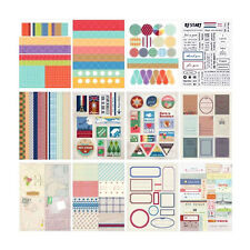 12stk Assorted Style DIY Daily Dekor Sticker Pack-Vintage scrapbook album diary