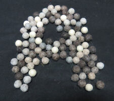 FB4 Hand Crafted 1cm 100pc Natural color wool pom pom beads Felt Ball Decorative