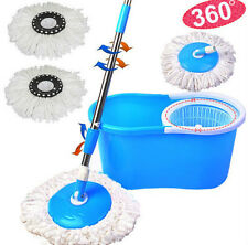 Easy Mop Magic 360 DEGREE ROTATING FAST SPIN DRY - 2 Absorbers