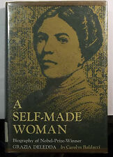 A SELF-MADE WOMAN - CAROLYN BALDUCCI-GRAZIA DELEDDA-SARDINIA-AUTHOR-BIO-BOOK