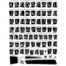 Blocco Alfabeto Set Di Timbro Chiaro [No.32]