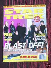 STAR TREK- OFFICIAL MONTHLY MAGAZINE-#71 - OCT 2000-JERI RYAN- NICHELLE NICHOLS