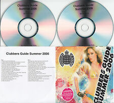 MINISTRY OF SOUND Clubbers Guide Summer 2006 UK 40-trk promo test 2CD