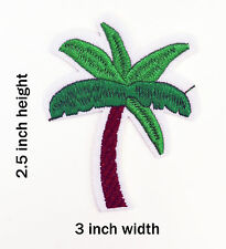 Palm Tree Iron-On Embroidered Patch