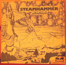 BRAIN LP 201.006: STEAMHAMMER - Mountains - 1970 GERMANY OOP NM