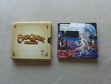 Everquest Gold Edition 5 disc's CD Rom PC Video Game Sony Online 2002