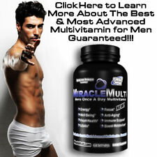 Men's Multivitamin Best Daily Vitamin Supplement Health Energy Anti Aging Libido