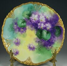 Beautiful Limoges Plate Gold Trim #1