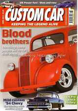 Custom Car June 2013 1950 Anglia 1932 Fordor 1954 Chevrolet 210