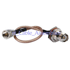 RP-TNC Jack female to FME male Plug pigtail Cable RG316 15cm for 3G/4G Wireless