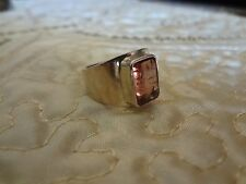 #110--VINTAGE STERLING SILVER RING-925--SIZE-7