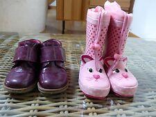 Lot 2 paires de chaussures pour fille en taille 22