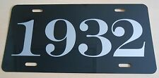 1932 YEAR LICENSE PLATE FITS CHEVY FORD CHRYSLER BUICK PONTIAC PLYMOUTH PACKARD
