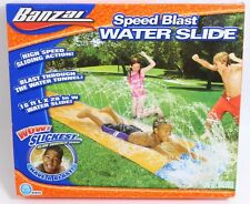 Slip N Slide 16ft Banzai Speed Blast Water Slide Swimming Inflatable Pool Toys