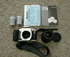 Pentax zx-l 35mm camera with 28-90mm lens