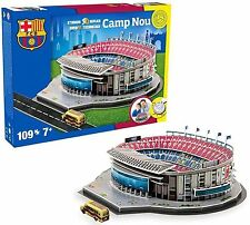 Nanostand Futbol Club Barcelona Camp Nou Puzzle - Multicoloured, One Size