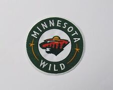 "LOT OF (1) HOCKEY MINNESOTA WILD (4"") ROUND PATCH (NEW) ITEM # 84"