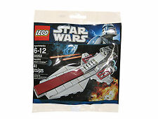 Lego Star Wars Set 30053 Venator Class Republic Attack Cruiser x 2