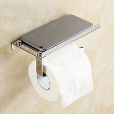 1x Toilettenpapierhalter Edelstahl WC-Papierhalter Klopapier Rollen