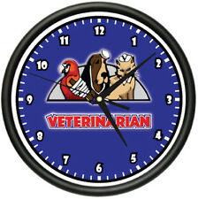 VETERINARIAN Wall Clock animal doctor pets vet gift