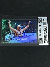 RANDY COUTURE 2010 TOPPS UFC SIGNED AUTOGRAPHED CARD MMA LEGEND CAS AUTHENTIC