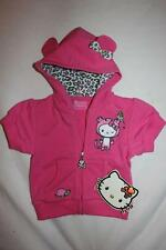 NWT RARE TOKiDOKi HELLO KiTTY Bambino Baby Girl Leopard Hoodie Ear Jacket 0-3M