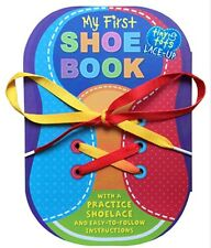 MY FIRST SHOE BOOK Learn to tie and lace shoes (bb)  New