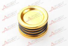GOLDEN ANODIZED ALUMINUM RACING CAM/CAMSHAFT SEAL FOR HONDA B16 B18 B20 H22 H23