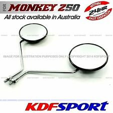 KDF REAR MIRROR DAX BIKE CT70 ST70 BACK PARTS 50 ROUND FOR HONDA MONKEY Z50 Z50J