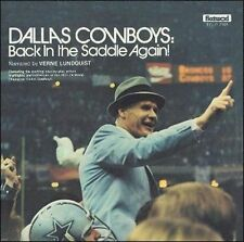 1977 Dallas Cowboys:Back In The Saddle Again CD NEW Super Bowl Champs!