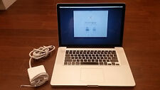 "Apple MacBook Pro 15""  2009 - Core 2 Duo 2.53GHZ, 4GB,  a1286 - HAS ISSUES READ"
