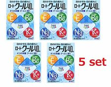 New Rohto Japan Rohto Cool 40alpha Eye Drops 12ml 5 packs set Japan