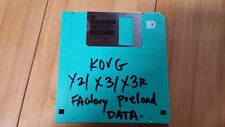 Korg X2 X3 X3R PRELOAD FLOPPY disc Performance Data korg